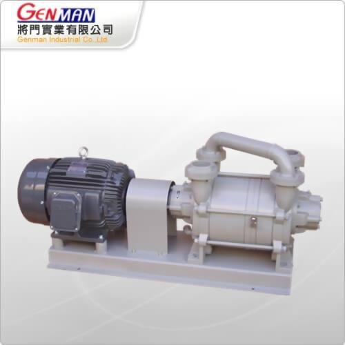 液封式真空幫浦-雙段式-GWV-15 - 將門實業有限公司