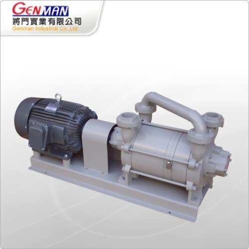 液封式真空帮浦-双段式-GWV-20 - 將門實業有限公司