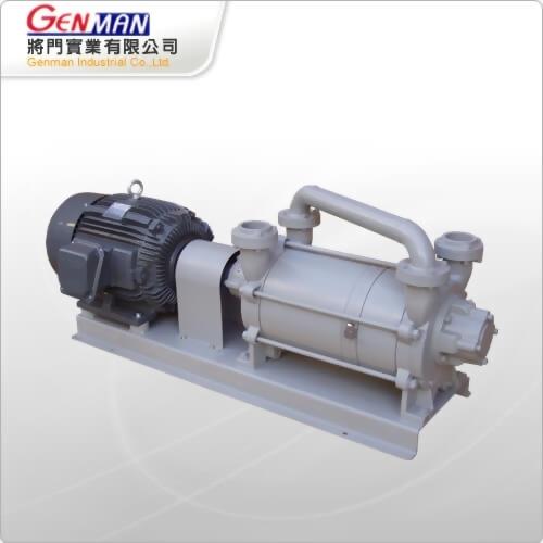 液封式真空幫浦-雙段式-GWV-25 - 將門實業有限公司