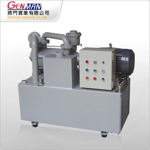 Oil Ring Vacuum Pumps_Air-cooling model-GOV-7DA - Genman Industrial