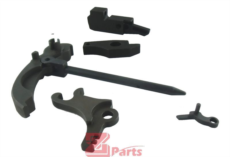 WE APACHE/MP5 Complete Steel Trigger Set