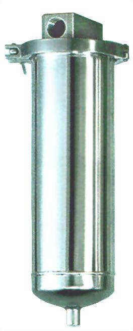 Series single cartridge filter housing - T series