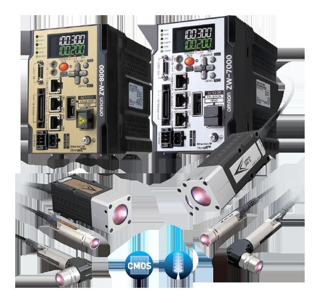 ZW-7000/8000 系列 光纖同軸變位感測器