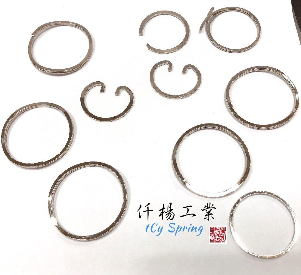 扁線扣環-卡簧 3