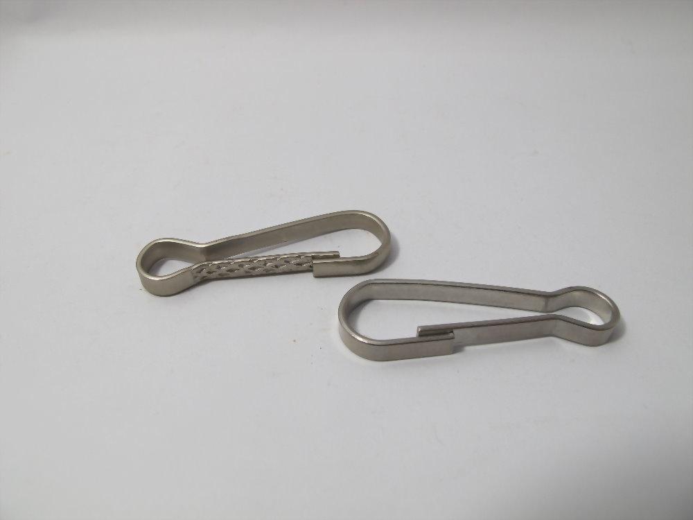 特殊形狀扁線彈簧-SUS316鑰匙圈
