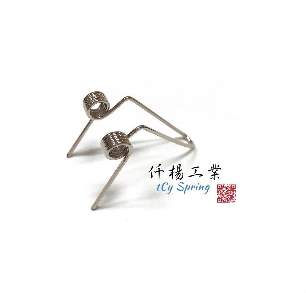 雙扭轉彈簧(雙扭力彈簧)-水瓶扭簧