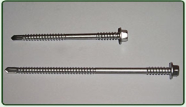 Bi-metal Screws IND HEX Washer Head High Thread with Drill Point No3-2