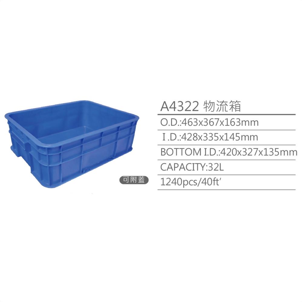 logistic box, plastic box, plastic crate