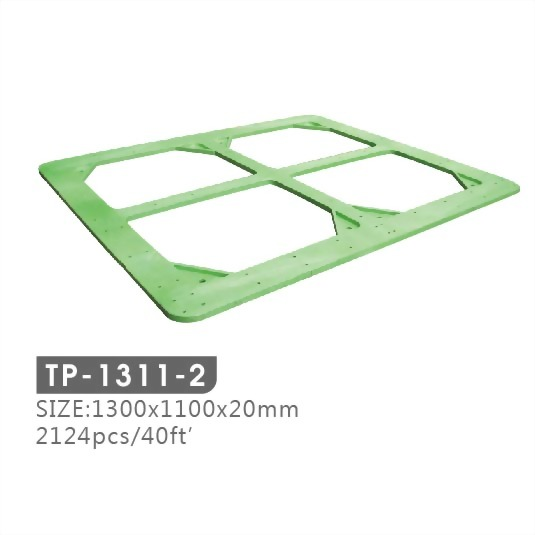pallet top frame, plastic top frame