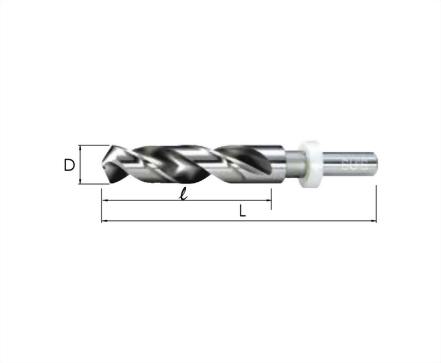 WD-1731-TiAlN鎢鋼直柄鑽頭