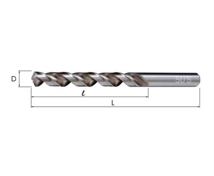 Q-114-鋁用—直柄鑽頭