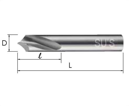 WP-1752-90°鎢鋼NC定點鑽頭