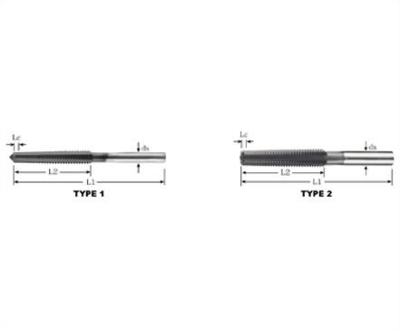 NTS-83574-TCON Nut Taps TCON