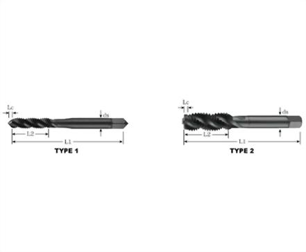 SFT-80211-染黑螺旋絲攻