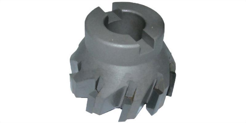 焊刃式強力型斜刃面銑刀