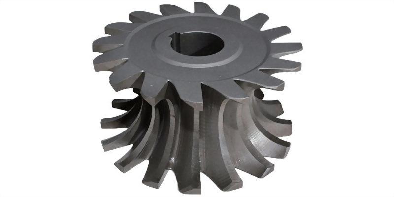焊刃式內R側銑刀