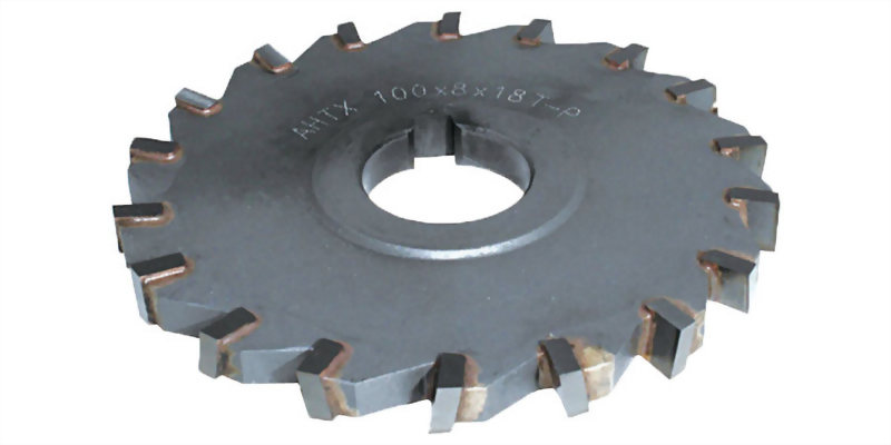 焊刃式千鳥刃側銑刀