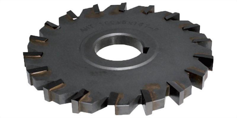焊刃式直刃側銑刀