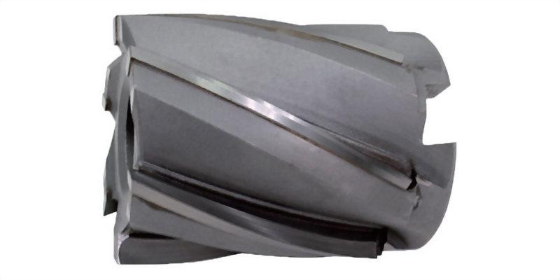 焊刃式筒型精銑刀