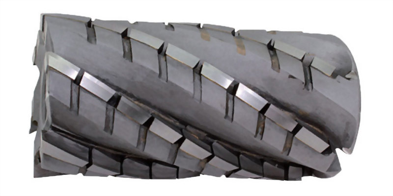 焊刃式筒型粗銑刀