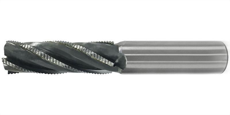 焊刃式後波刃粗銑刀