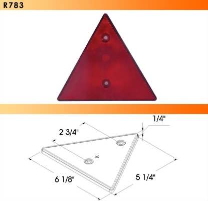 Triangle Rear Reflector