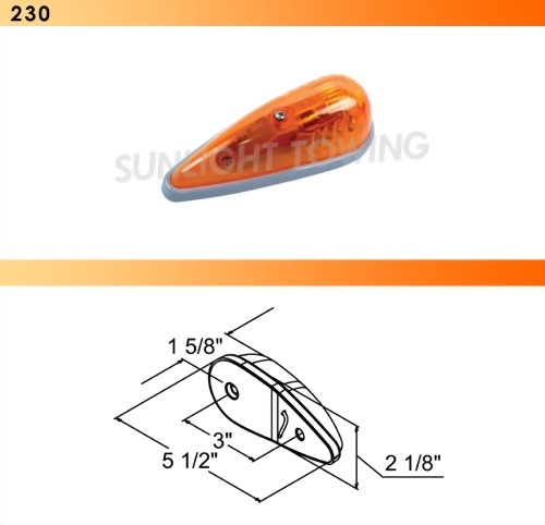Ford Cab Marker Light - PC Rated