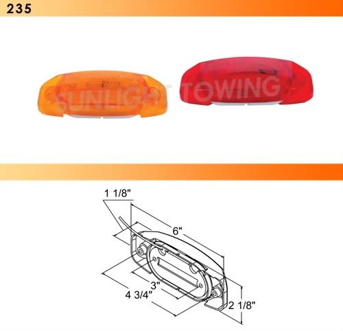Clearance Marker Light W/Reflex