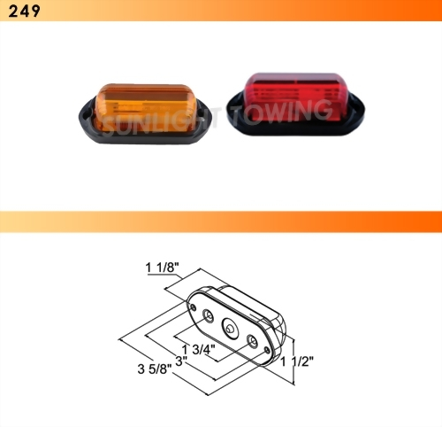 Clearance Marker Light - PC Rated