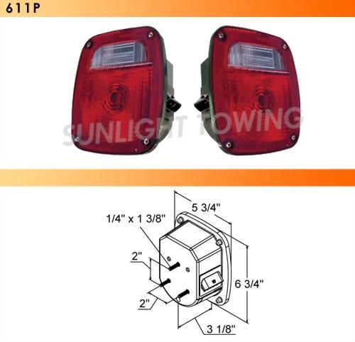 Combo Tail Light W/Metri-Pcak Connector