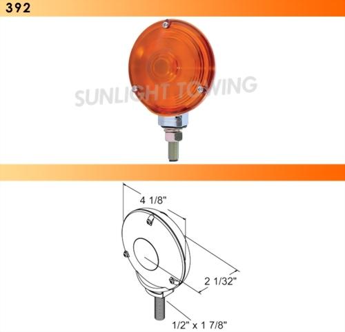 Single-Face Turn Signal Light