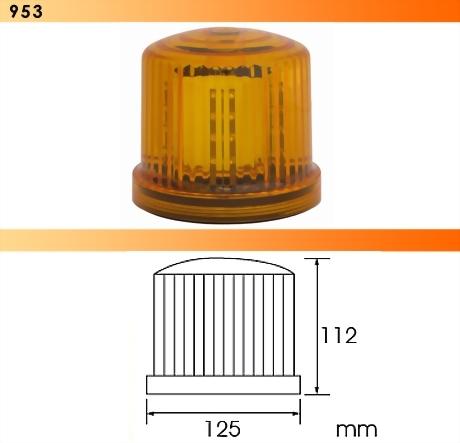 Magnetic LED Rotating Light