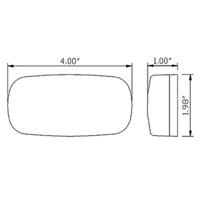 LED Clearance Marker Light - 6 Diodes