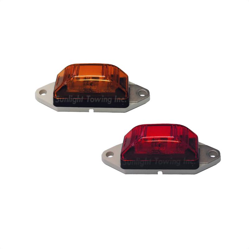 LED Sealed Clearance Marker Light - 3 Diodes