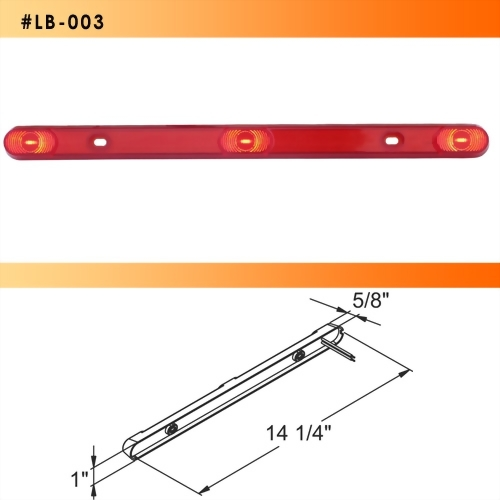 LED Submersible ID Light Bar - 3 Diodes
