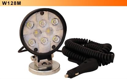 LED Work Light W/Magnetic Base - 8 Diodes