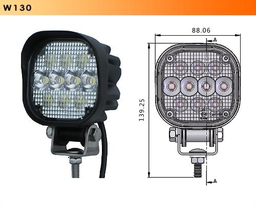 LED Work Light - 10 Diodes