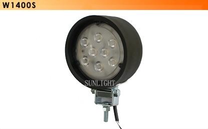PAR36 LED Work Light w/Rubber Housing