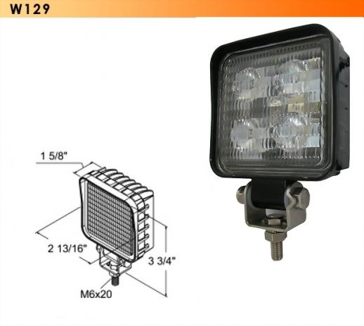 LED Work Light - 4 Diodes
