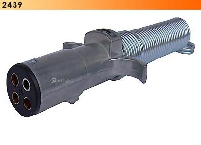 4- Pole Plug W/ Cable Guard