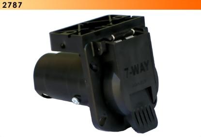 7-Way Socket w/ Bracket