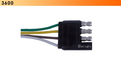 4 Wire Flat Connector-Trailer End