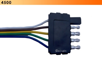 5 Wire Flat Connector