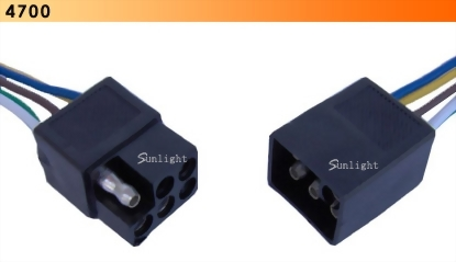 Square Shrouded Connector