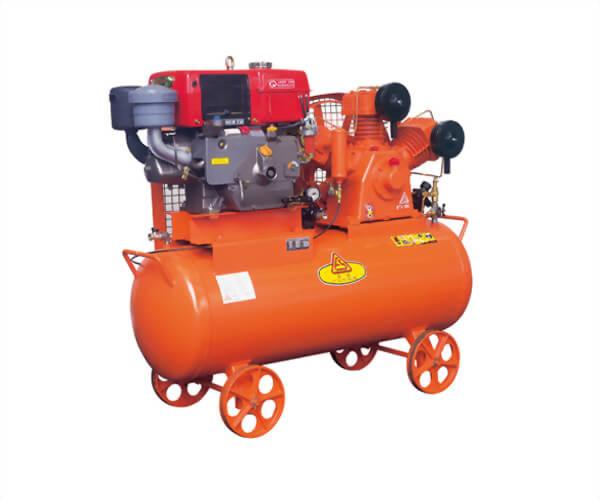 D型 (引擎式) -氣冷式往復式空氣壓縮機