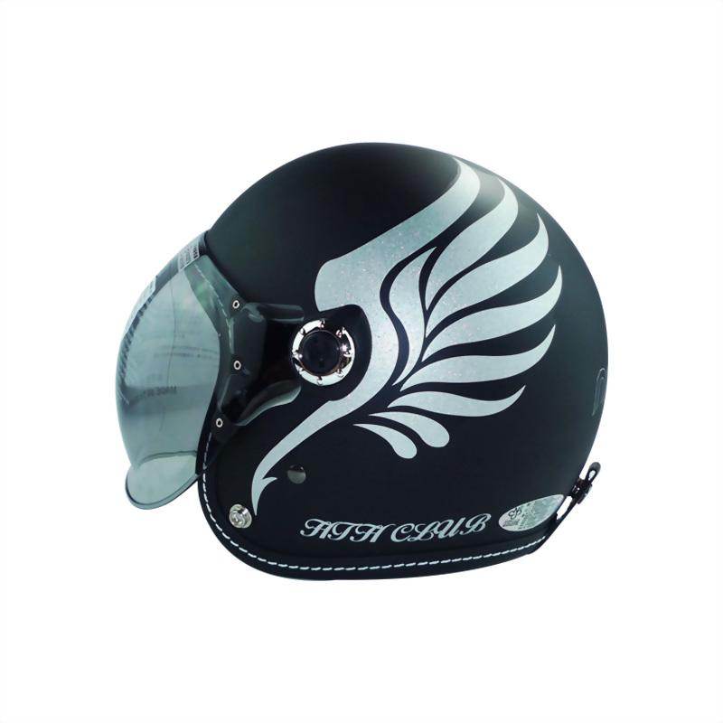 翅膀泡泡鏡騎士帽