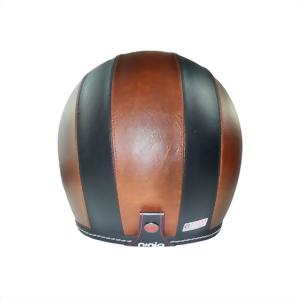 皮革墨鏡騎士帽(雙色)