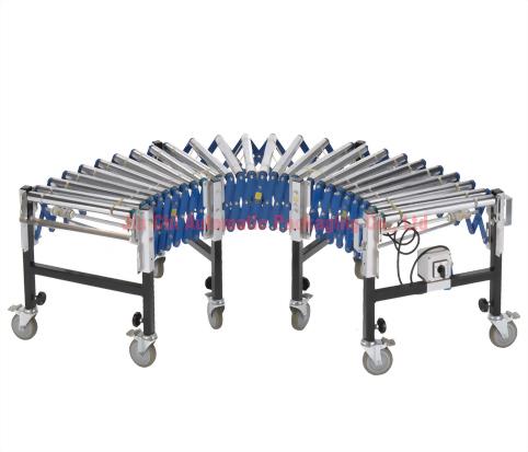 伸縮式滾筒輸送機