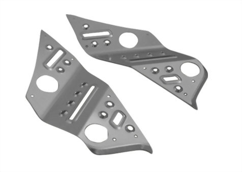 ALUMINUM FOOT BOARD FOR NEW CYGNUS 125