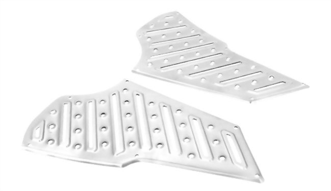 ALUMINUM FOOT BOARD FOR NEW CYGNUS 125 (1MS)